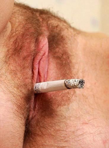 В пизде сигарета фото 12