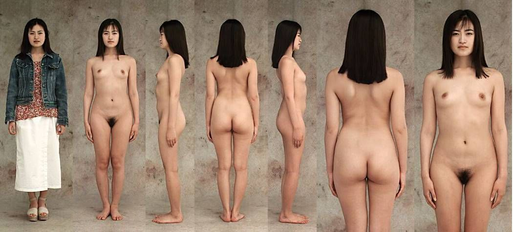 Naked cleft chin women